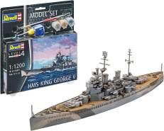 Revell Model Set HMS King George V