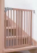 Dolle 'Pia' Tür- und Treppenschutzgitter, für Türbreiten 75,6-110,4 cm, zum Schrauben, Holz Natur