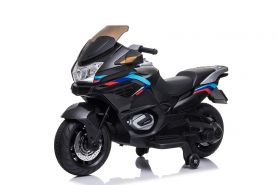 Elektro Motorrad Sport Bike 2x 45W 12V 7Ah Kinder Schwarz