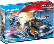 Playmobil City Action 70575 'Polizei-Helikopter: Verfolgung des Fluchtfahrzeugs', 124 Teile, ab 4 Jahren