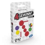 Hasbro Gaming '4 Gewinnt Kartenspiel', ab 6 Jahren, 2–4 Spieler, der Spieleklassiker als Kartenspiel
