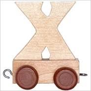 Bino Buchstaben Geburtstagszug - Anhänger X