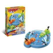 Hasbro Gaming 'Hippo Flipp Kompakt' Geschicklichkeitsspiel, ab 4 Jahren, 2 Spieler, Kompaktausgabe für unterwegs