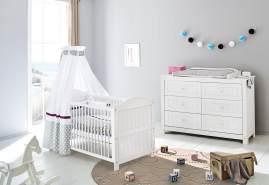 Pinolino 'Nina' Kombi-Kinderbett weiß
