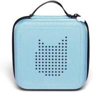 Tonies 'Tonie-Transporter' Transporttasche Hellblau, Box zur Aufbewahrung von bis zu 20 Tonies Hörfiguren, leicht, abwaschbar, Reißverschluss, 17,5 x 17,5 cm
