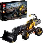 LEGO Technic 42081 'Volvo Konzept-Radlader ZEUX', 1167 Teile, ab 10 Jahren, futuristisches 2-in-1 Modell