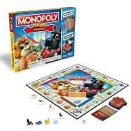 Monopoly 'Junior Banking' Brettspiel, Kinderspiel ab 5 Jahren, 2-4 Spieler, inkl. Bankkartenleser