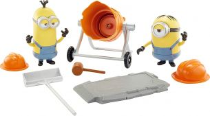 Mattel - Minions Movie Moments Mixed-Up Minions - Spielfigurenset