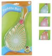 Besttoy Paddleball-Spiel - 26 cm - 1 Stück, zufällige Auswahl der Farbe, keine Vorauswahl möglich