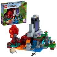 LEGO Minecraft 21172 'Das zerstörte Portal', 316 Teile, ab 8 Jahren