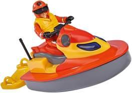 Simba - Feuerwehrmann Sam Sam Juno, Jet Ski mit Figur