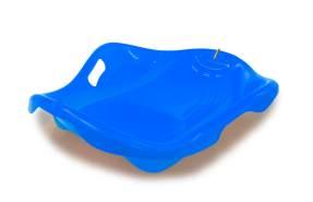 Jamara 'Snow Play Bob Speed' Kinderbob, blau, 78 cm, aerodynamische Bauweise, langlebiger Kunststoff, bequeme, ergonomische Sitz-/ Liegekuhle für eine optimale Rutschposition, 1 kg Leichtgewicht, ab 3 Jahren