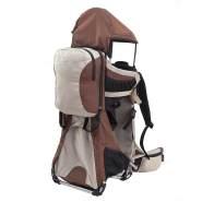 MONTIS RANGER PRO, Premium Rückentrage, Kindertrage, -25kg Braun