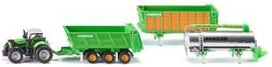 SIKU - Farmer - Traktor Deutz mit Joskin Anhängerset