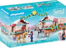 Playmobil Spirit Riding Free 70395 'Weihnachten in Miradero', 116 Teile, ab 4 Jahren