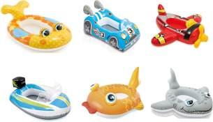 Intex Pool Cruiser - Aufblasbarer Babysitz / Schwimmboot ca. 107 cm - 1x Stück, zufällige Modellauswahl