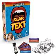 Hasbro Gaming 'Klartext' Partyspiel, ab 8 Jahren, 4+ Spieler, inkl. 8 Mundstücken und 400 Sätzen