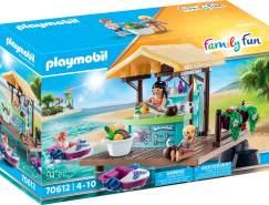 Playmobil Family Fun 70612 'Paddleboot-Verleih mit Saftbar', 91 Teile, ab 4 Jahren
