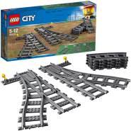 LEGO City 60238 'Weichen', 8 Teile, ab 5 Jahren