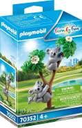 Playmobil Family Fun 70352 '2 Koalas mit Baby', 10 Teile, ab 4 Jahren