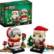 LEGO BrickHeadz 40274 'Herr und Frau Weihnachtsmann', 341 Teile, ab 10 Jahren