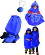 Regenschutz Kindersitz Lucky Cape 4 in 1 blau