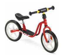 PUKY 4024 'LR 1 L' Laufrad, für Kinder ab 90 cm Körpergröße, bis 25 kg belastbar, höhenverstellbar, rot