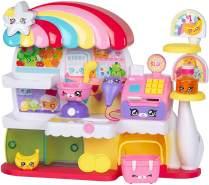 Kindi Kids™ Kitty Petkin-Supermarkt, 2 Shopkins und Spielunterlage aus Vinyl