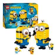LEGO Minions 75551 'Minions-Figuren Bauset mit Versteck', 876 Teile, ab 8 Jahren