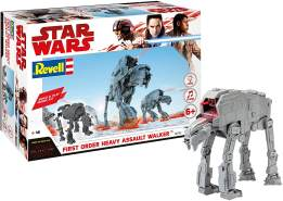 REVELL 06761 - Star Wars Modellbausatz Build & Play - AT-M6 Kampfläufer 1:164