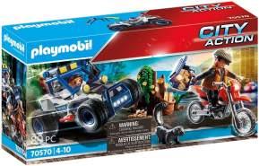 Playmobil City Action 70570 'Polizei-Geländewagen: Verfolgung des Schatzräubers', 89 Teile, ab 4 Jahren