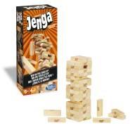 Hasbro 'Jenga Classic' Geschicklichkeitsspiel, ab 6 Jahren, moderne Aufmachung des Spieleklassikers, nervenkitzelnder Spielspaß
