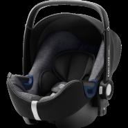 Britax Römer 'Babysafe 2 i-Size Cool Flow' Babyschale 2020 Graphite Marble Gruppe 0+, mit Base