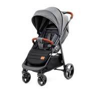 Kinderkraft 'Grande' Sportkinderwagen Grau, inkl. Regenschutz, Fußschutz und Einkaufskorb