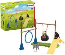 Schleich Farm World 42536 'Spielspaß für Hunde', ab 3 Jahren, 18 Teile