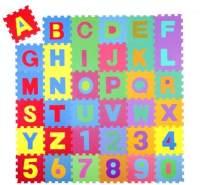KIDUKU 86 tlg Puzzlematte Spielteppich Kinderteppich