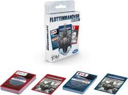 Hasbro 'Flottenmanöver' Kartenspiel, Strategiespiel, ab 7 Jahren, 2 Spieler