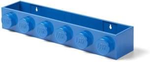 LEGO Bücherregal Ablage, blau