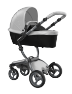 Mima Xari Design Kinderwagen Kollektion 2021 Graphite Grey Argento