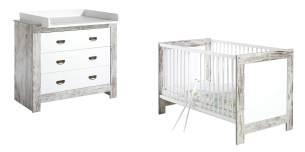 Schardt 'Nordic Chic' 3-tlg. Spar Babyzimmer Set