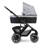 ABC Design 'Salsa 4 Air' Kombikinderwagen 3 in 1 Smaragd inkl. Sportsitz, Babywanne, Cybex Aton 5 Babyschale Deep Black
