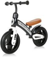 Lorelli Laufrad Scout 10 Zoll Lufträder verstellbarer Lenker, Anti-Rutsch-Griffe schwarz