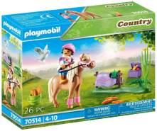 """Playmobil Country 70514 'Sammelpony """"Isländer""""', 26 Teile, ab 4 Jahren"""