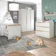 Geuther Kinderzimmer Wave 3tlg - natur