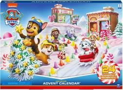 Spin Master 'Paw Patrol' Adventskalender 2020 mit Sammelfiguren und Winterlandschaft