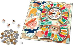 Learning Resources LSP5057-UK Money Bags Münzwert-Spiel