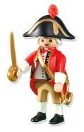 Playmobil 6228 'Captain der Englischen Soldaten Gardist' Piraten Spielfigur