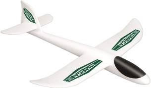 Paul Günther 1507 - Segelflugzeug Omega, sehr leichter Wurfgleiter ca. 36 x 35 cm groß, mit perfektem Gleitflug