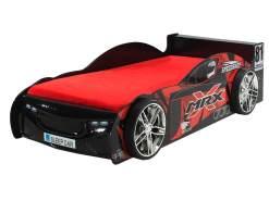 Vipack 'MRX' Autobett schwarz lackiert 90x200