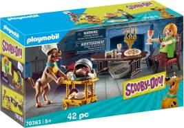 Playmobil SCOOBY-DOO! 70363 'Abendessen mit Scooby', 42 Teile, ab 5 Jahren